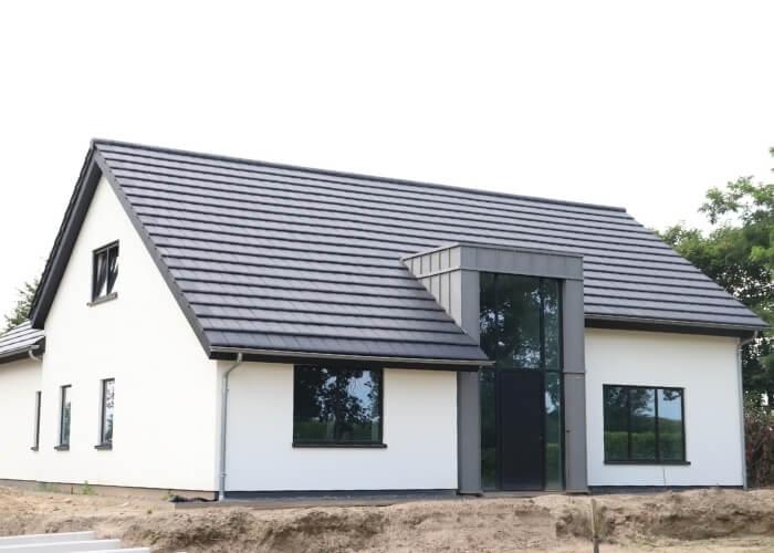 gevelrenovatie nieuwbouw huis